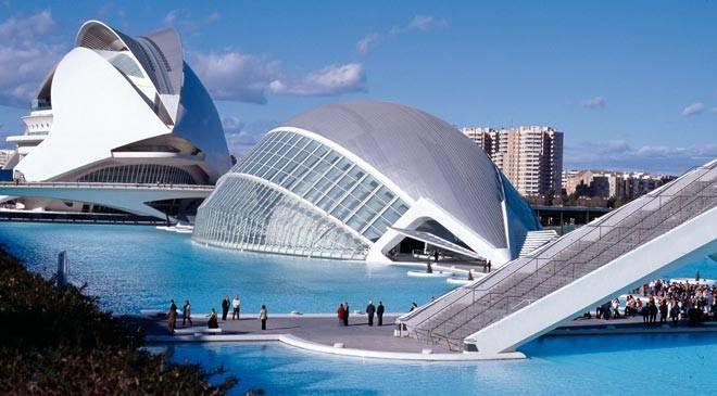 Валенсия - град на светлината - полезна информация Валенсия Испания Карта
