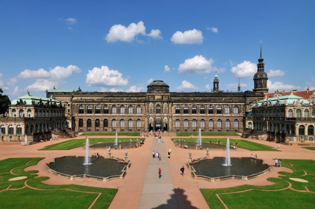 Цвингер - град Дрезден, Германия - Градовете на Европа